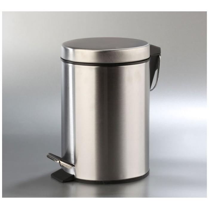 Papelera acero inoxidable 5 litros