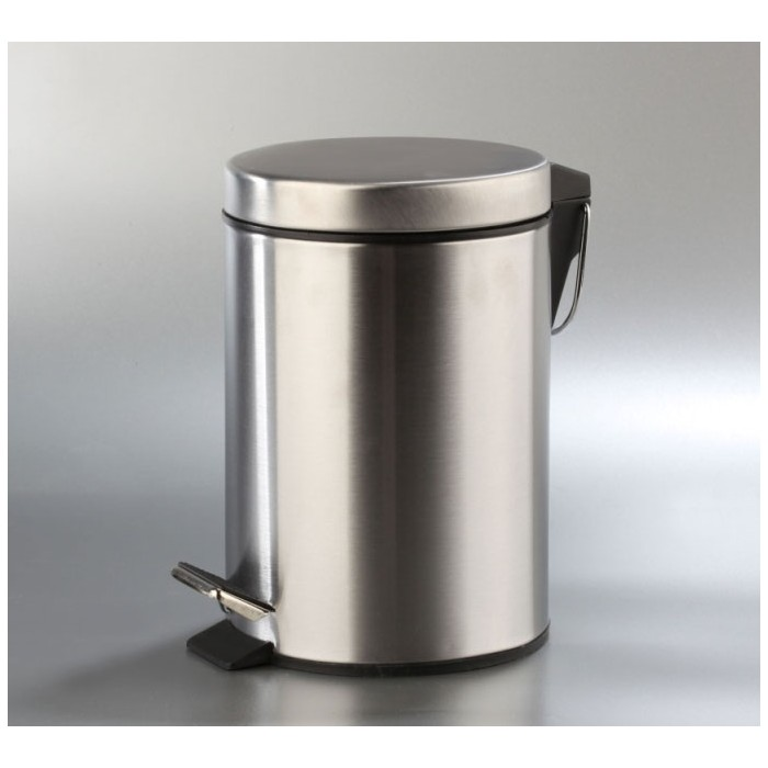 Papelera acero inoxidable 3 litros
