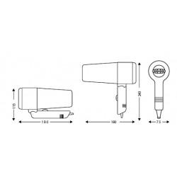 Secador de Pelo A50 1600W