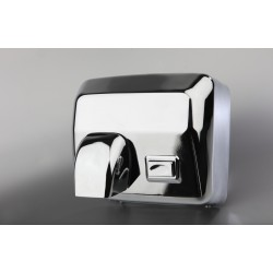 Stainless Steel Hand Dryer with nozzle and push-button