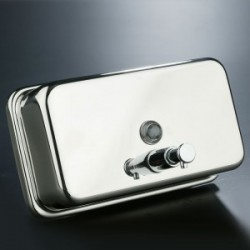 Stainless steel Soap Dispenser 1 L Horiz