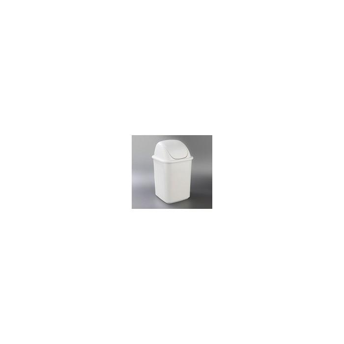 Papelera plástico PUSH 25 litros