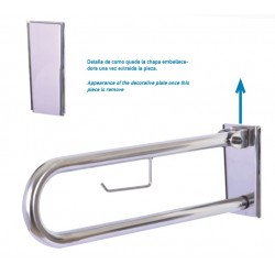 REMOVABLE FOLDING SUPPORT RAIL