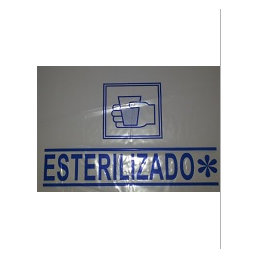 BOLSA VASO ESTERILIZADO 15X20