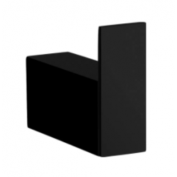 PERCHA BAÑO BLACK