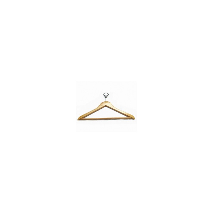 Wood male hanger