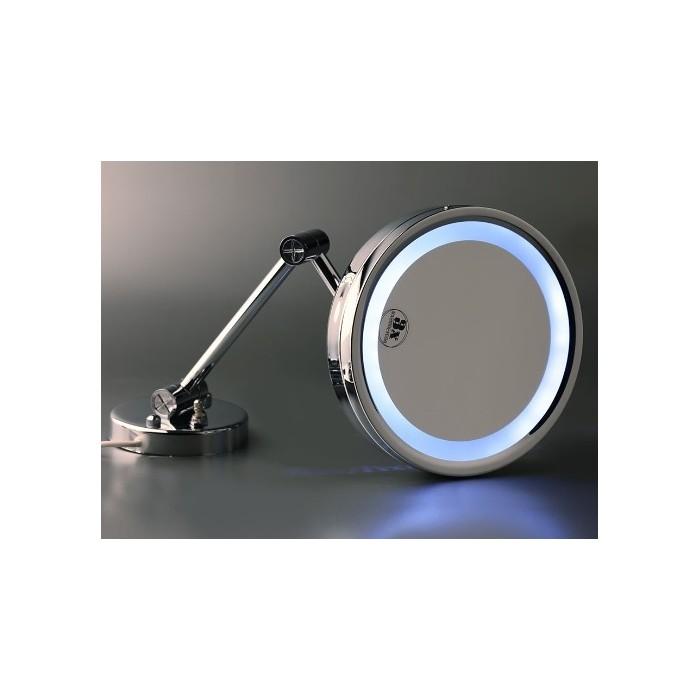 espejo de aumento con luz de led productos para hoteles