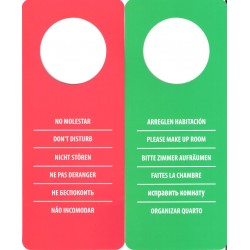 """DO NOT DISTURB"" SIGN (100 pcs)"