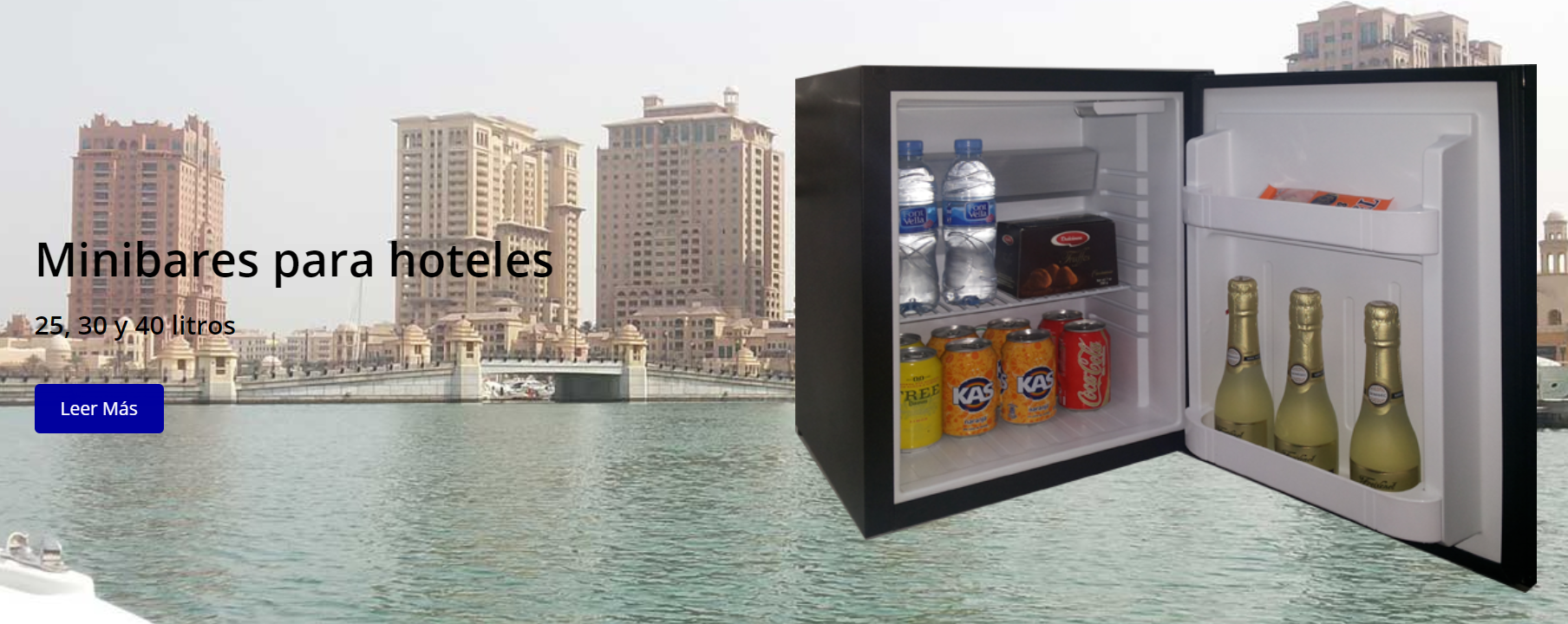 Minibars for hotels